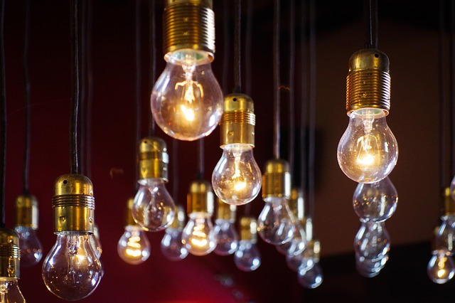závěsné žárovky
